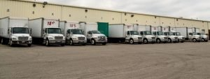 Newark Parcel Transport Vehicles for local pickup and delivery